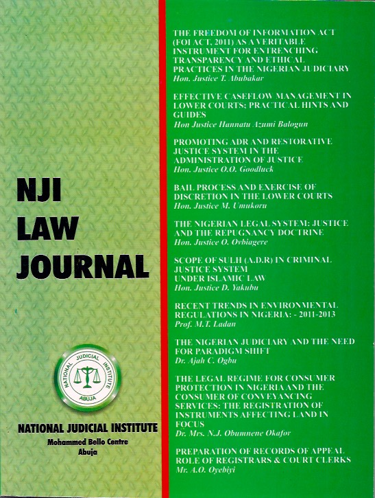 national judicial system